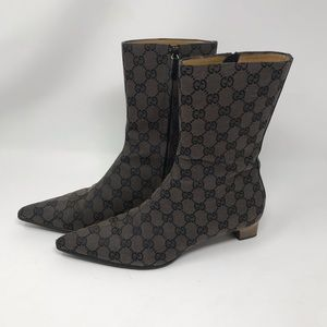 STUNNING Vintage Gucci 1970's Ankle Boots in EUC